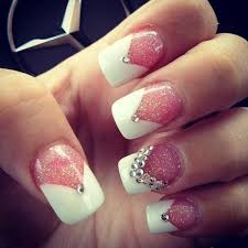 101 cute pink and white nails designs worth stealing to be nail