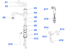 delta kitchen faucet replacement parts repair parts for delta kitchen faucets in faucet diagram ideas 2