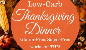 low carb thanksgiving food trim healthy mama thanksgiving