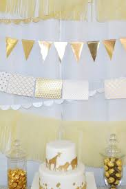 a golden safari themed baby shower spaceships and laser beams