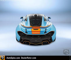 mclaren p1 concept a mclaren p1 that may make you blue and orange with envy
