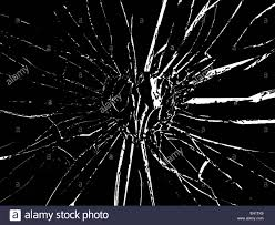 Shattered Glass Table by Broken Shattered Glass Heart Shape On White Stock Photo Royalty