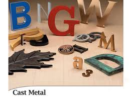 metal lettering i95 signs