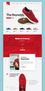 website homepage design landing page ui design concept for eshoes shop website on behance