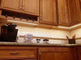 How To Install Lights Under Kitchen Cabinets Kitchen Blue Paint Colors With Oak Cabinets Tehranway Decoration