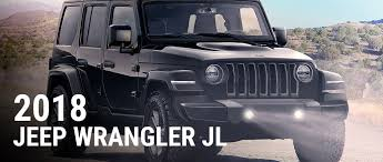 2018 jeep wrangler find 2018 jeep wrangler jl info pictures pricing and more at