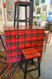 houndstooth home decor 19th century chests hand painted in tartan plaidish home decor