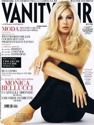 Monica Bellucci Vanity Fair Monica Bellucci Vanity Fair Magazine 18 October 2007 Cover Photo