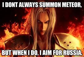 Sephiroth Meme - sephiroth puppets memes quickmeme