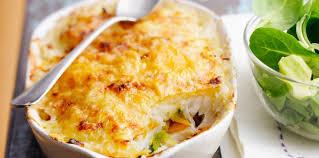poisson facile à cuisiner gratin de poisson aux légumes facile recette sur cuisine actuelle