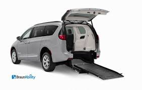 we have braunability handicap rear entry wheelchair vans with