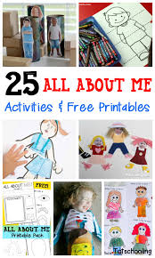 25 all about me activities u0026 free printables all about me all