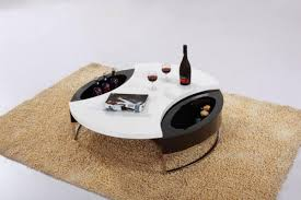 stylish round coffee table with storage storage rounding and coffee