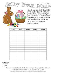 free easter speeches easter jelly bean math printables for kids free word search
