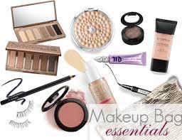makeup bag essentials a good hue