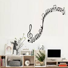 music note home decor musical notation wall decals vinyl removable nursery wall stickers