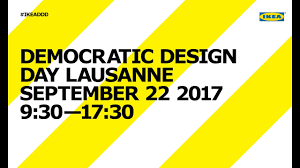 democratic design opening of democratic design day lausanne 2017 youtube