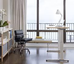 Sit Stand Desks by Hermanmiller Renew Rectangular Sit Stand Desk Wood The Century