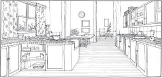 kitchen design sketch x543 homesemoh com gallery of loversiq