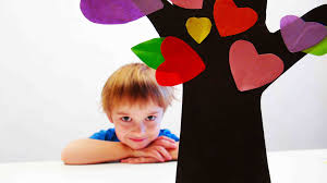diy valentines day love tree valentines day crafts for kids
