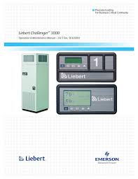 liebert challenger 3000 user manual 76 pages
