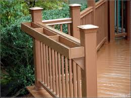 deck railing planter brackets u2014 railing stairs and kitchen design
