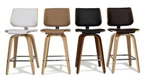 tabouret cuisine design tabouret de cuisine design avec pieds bois assise 64 cm hambourg