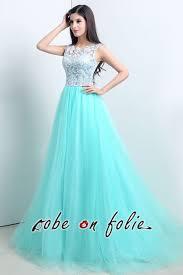robe de soir e pour mariage pas cher robeenfolie robe de soirée bleu pas cher pour les invitées au