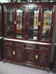 display china cabinets furniture rosewood french tiger claw style china hutch cabinet oriental