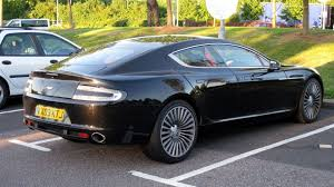 stanced aston martin aston martin rapide caught undisguised in parking lot