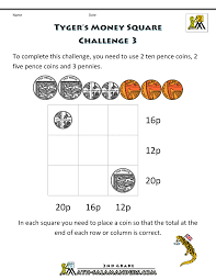 Coin Worksheets Simple Money Worksheets Timed Math Problems