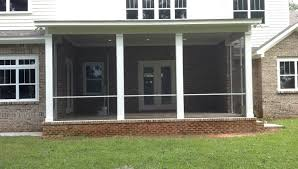 screened porch systems aluminum