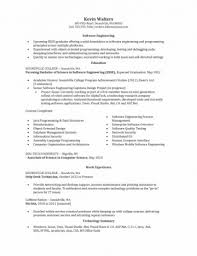Resume Example Entry Level by Entry Level Software Engineer Resume U2013 Resume Examples