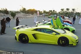 lamborghini 1 million dollar car qatar s multi million dollar supercar meet
