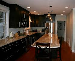 Kitchens With Black Cabinets Pictures Alyson S Kitchen With Black Cabinets Hooked On Houses