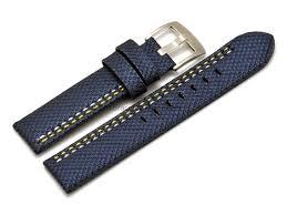 bracelet montre images Bracelet montre ardillon large high tech aspect textile bleu png