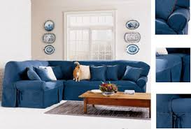 sure fit denim sofa slipcover denim sectional covers denim sectional sofa with chaise by true