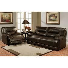 Leather Recliner Sofa Set Deals Top Grain Leather Sofa Recliner Facil Furniture