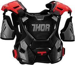 youth thor motocross gear thor guardian youth chest protector mx atv motocross roost guard