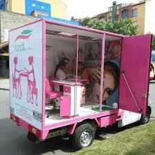 box truck u2026 business pinterest box salons and nail salons