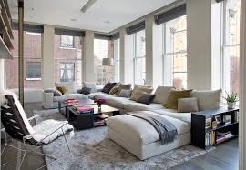 ApartmentsizesectionalsFamilyRoomContemporarywithblack - Family room size