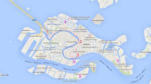 Map Venice Italy by Arre Kya Baat Hai Essential Venice For Dummies