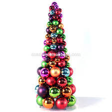 bauble tree decorations from berry red modern christmas