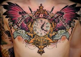 clock breathtaking clock tattoo meaning clock tattoos for guys