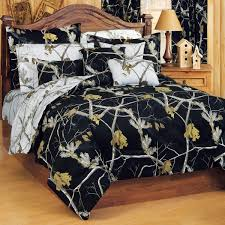camouflage comforter sets queen size realtree ap black comforter