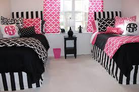 black white and pink bedroom ideas interior design