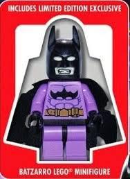 lego movie justice league vs toyriffic exclusive batzarro minifigure with lego justice league vs