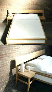 ikea malm full bedside table design for bedroom bed frame with