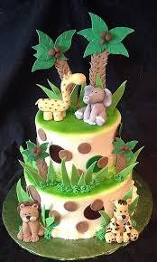 jungle theme cake baby shower cakes beautiful jungle theme cakes for baby shower