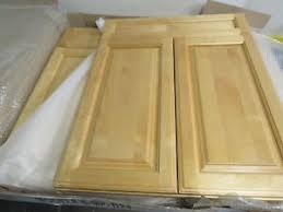 kitchen base cabinets ebay details about kitchen bathroom base cabinet doors solid wood birch w frame 24 x 30 lot 2